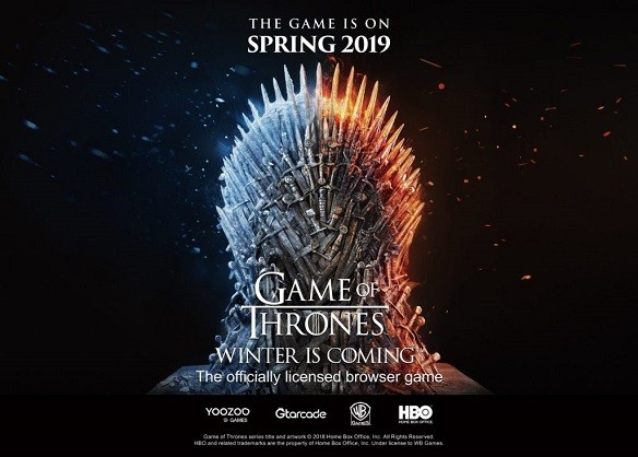 Game of Thrones Winter is Coming mmorpg gratuit