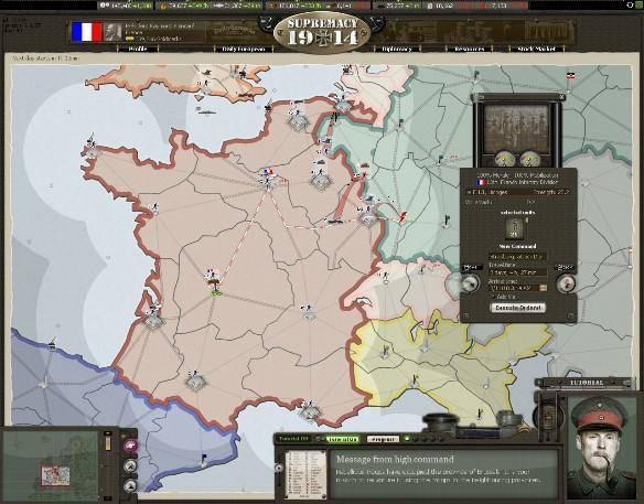 Supremacy 1914 jeux mmo gratuit